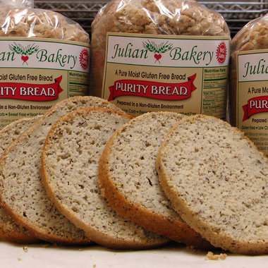 Whole grain, gluten-free, yeast-free and delicious Purity